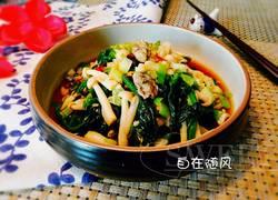 菠菜拌牡蛎