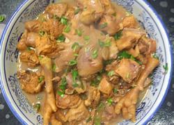 鲁菜大师蒋家菜酱烧炖鸡块