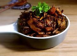 香辣笋干红烧肉