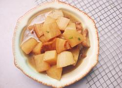冬日御寒之白萝卜炖五花肉