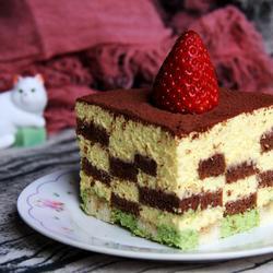 提拉米苏乳酪蛋糕