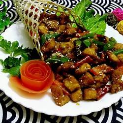 竹筒椒香鸡