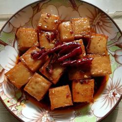 可乐鱼豆腐