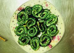 菠菜鸡蛋海苔卷~