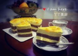 可可芒果慕斯蛋糕