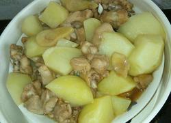 咖喱鸡腿焖土豆
