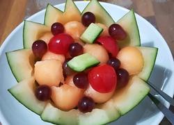 水果香瓜盅