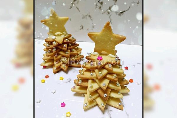 立体圣诞树饼干