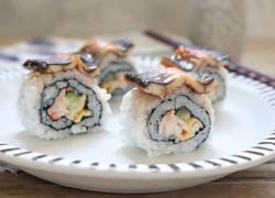 蟹柳沙拉鳗鱼卷