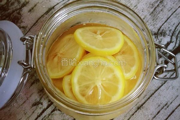 自制蜂蜜柠檬茶