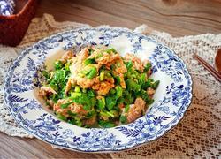 韭菜炒虾酱