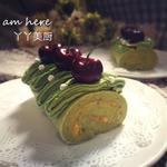 抹茶芒果蛋糕卷的做法[图]