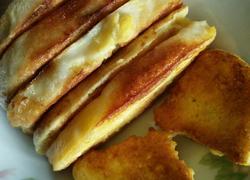 香煎鸡蛋馒头片