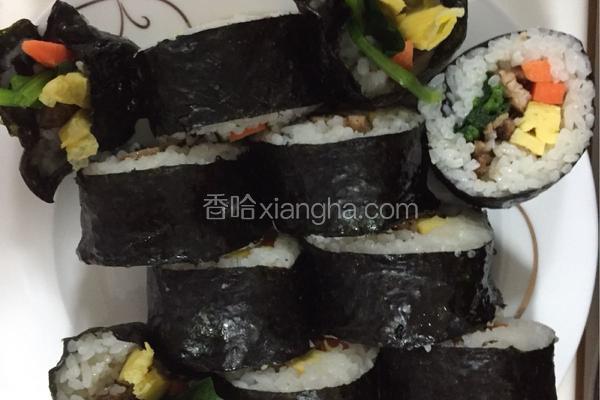 韩式烤肉寿司