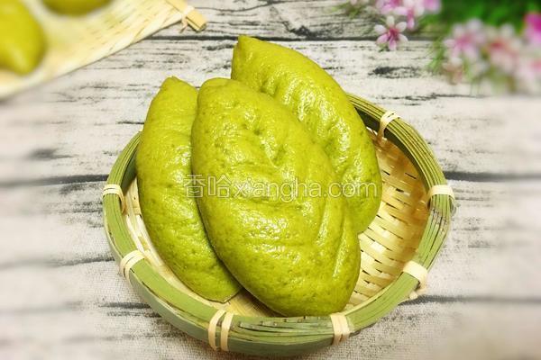 绿叶豆沙包