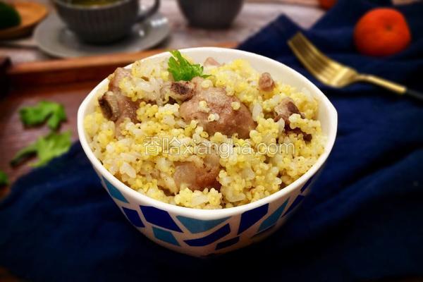 糯小米蒸排骨