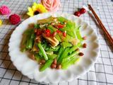 芹菜花生拌腐竹的做法[图]
