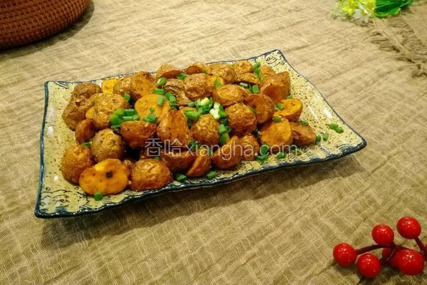 椒盐小土豆(印度菜)