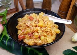 火腿洋芋焖饭