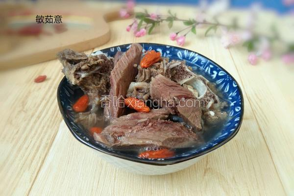 懶人羊肉湯