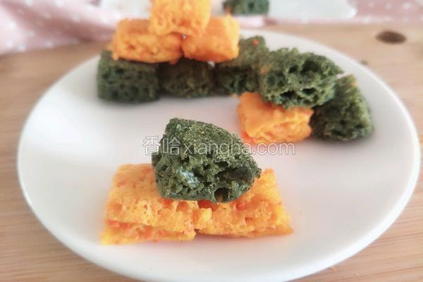 蔬菜发糕(9个月宝宝辅食)