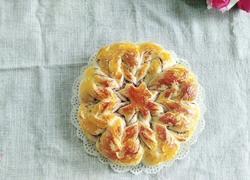 花型豆沙面包