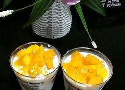 酸奶芒果布丁