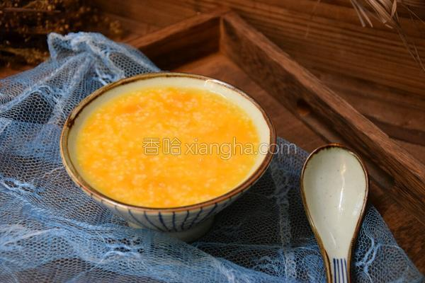 南瓜小米粥