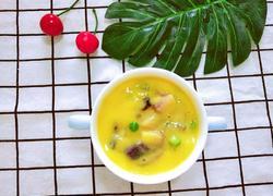 宝宝土豆紫薯玉米羹