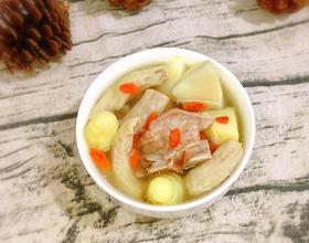 绿笋小肠排骨汤