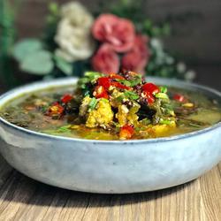 鱼籽酸菜汤