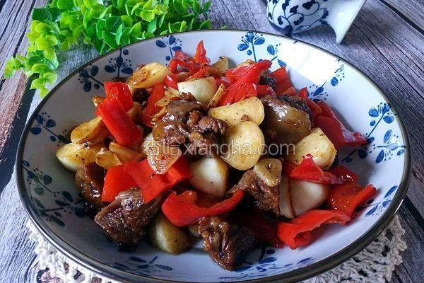 蚝油高笋酱牛肉