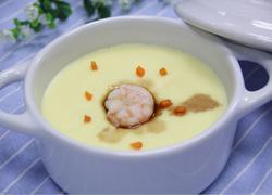 鲜虾蒸水蛋(嫩)