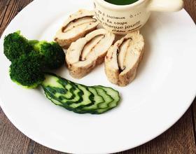 低脂减肥餐吃不胖的香菇鸡肉