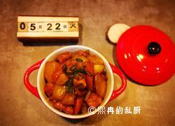 今日晚餐之土豆烧鸡块