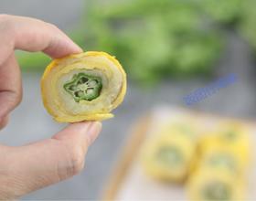 一起动手做营养的秋葵土豆泥鸡蛋卷
