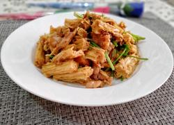 腐竹小炒肉