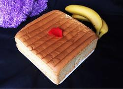 10寸香蕉泥戚风蛋糕