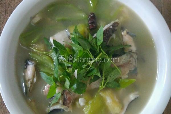鲶鱼茄子汤