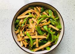 尖椒豆腐皮