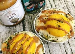蛋黄芝士煸饭的教学