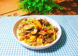 牛肝菌炒肉片