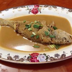 红烧黄山鱼