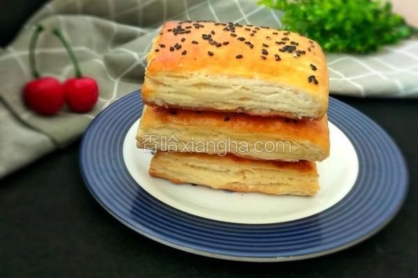 千层烤饼(发面)