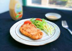 法式沙拉酱锅煎香甜鸡脯