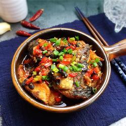 泡椒豆豉干烧鱼