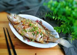 金银蒜黄鱼