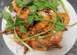 蚝油黄焖大虾