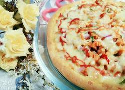 培根鸡肉披萨