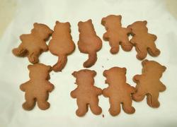 小熊巧克力饼干